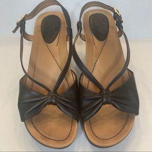 👠 Ladies Dansko Wedge Sandals 7 (36)